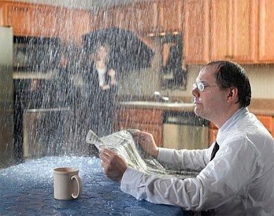 Что делать если затопило квартиру с крыши?