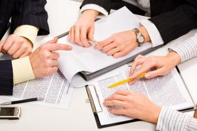 Подробное составление документа